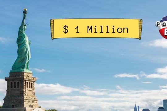 EINE GRUPPE VON ARBEITSKOLLEGEN AUS NEW YORK GEWINNT 1 MILLION DOLLAR IM POWERBALL