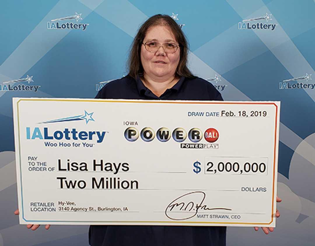 millionaire powerball ticket lisa