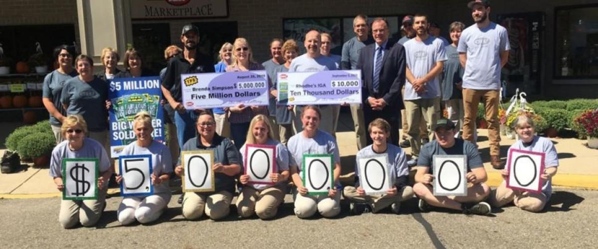 A lottery-winning teacher plans to keep working after $5m win