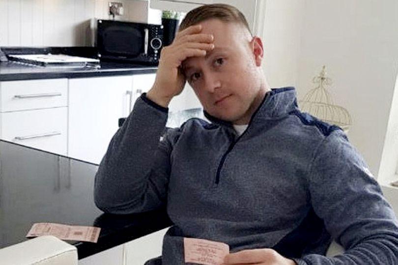 lottery winner celebrates dean