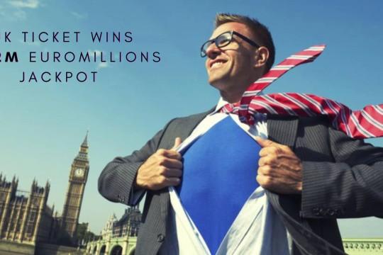 Good Friday as UK Ticket Wins £122m EuroMillions Jackpot