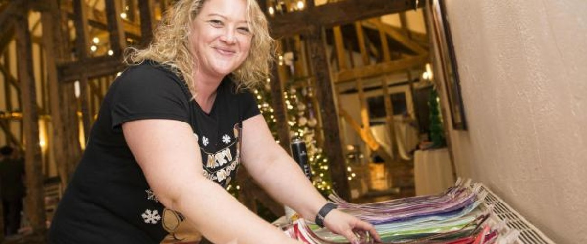 National Lottery winner throws VIP Christmas event