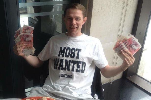 lotto winner homeless