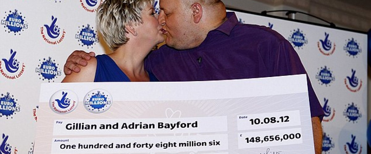 2nd on National Lottery rich list with five EuroMillion lucky dips