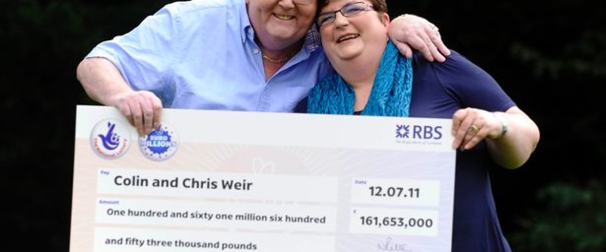 New entry on National Lottery rich list