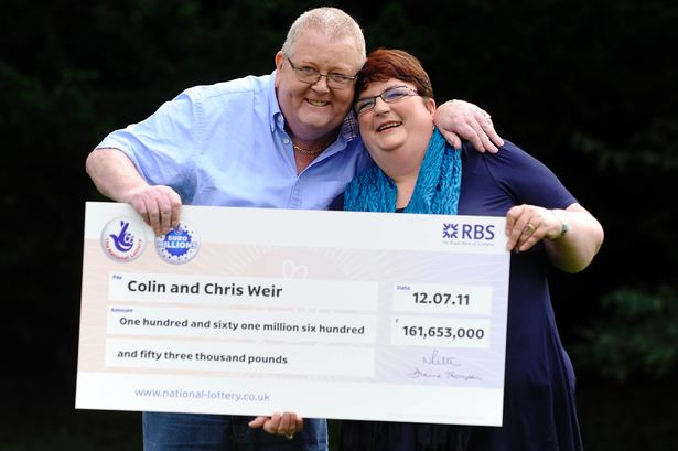 colin and chris weir euromillions winners