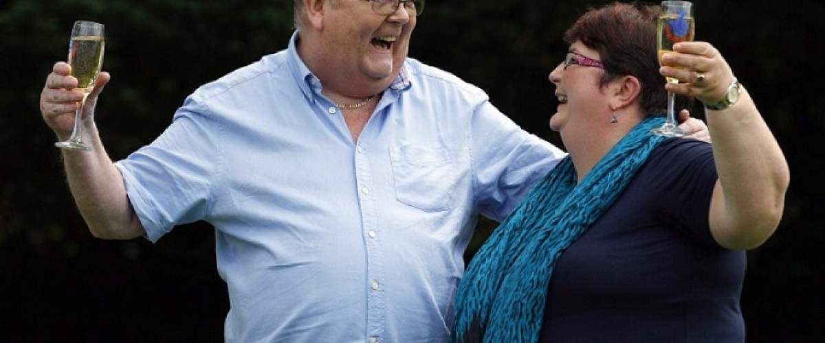 Nothing can stop EuroMillions lottery winners' generosity
