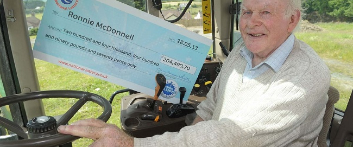 Corn farmer to spend his EuroMillions win on a new tractor