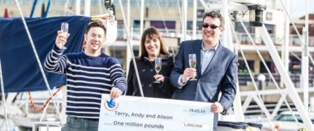 Workplace syndicate from Hampshire find all the luck they need in the EuroMillions Raffle