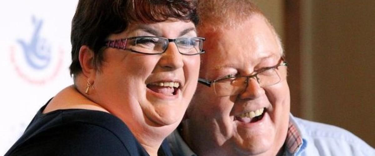Lottery winners make political donation