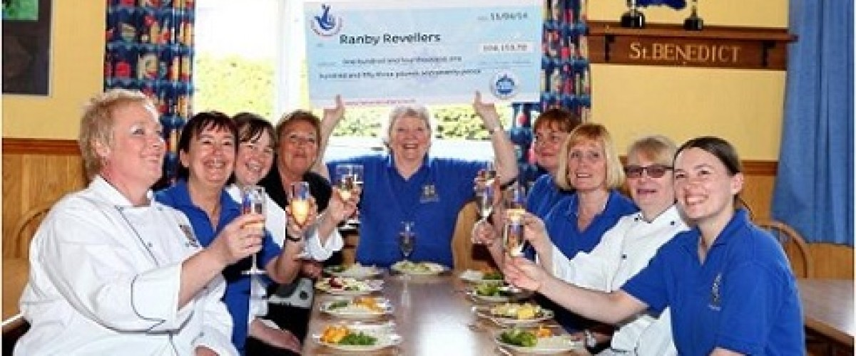 Retford school canteen to be served winner's dinners after staff scoop lottery prize
