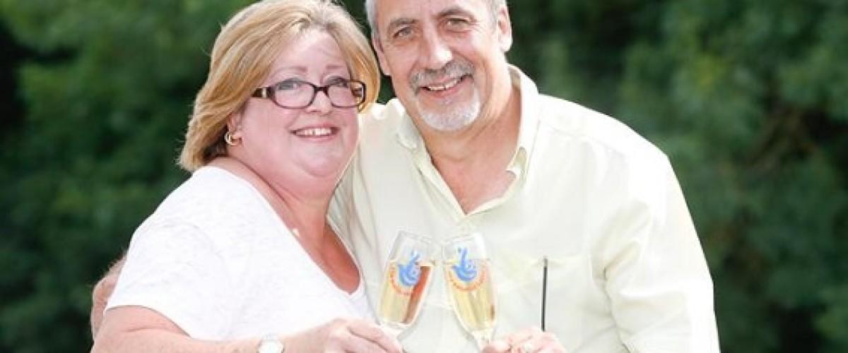 Kent couple revealed as EuroMillions Millionaire Raffle winners