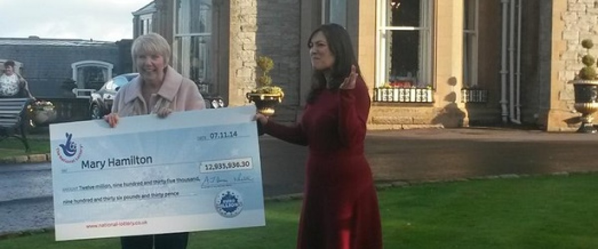 £13 million EuroMillions Jackpot is in the bag for Mary