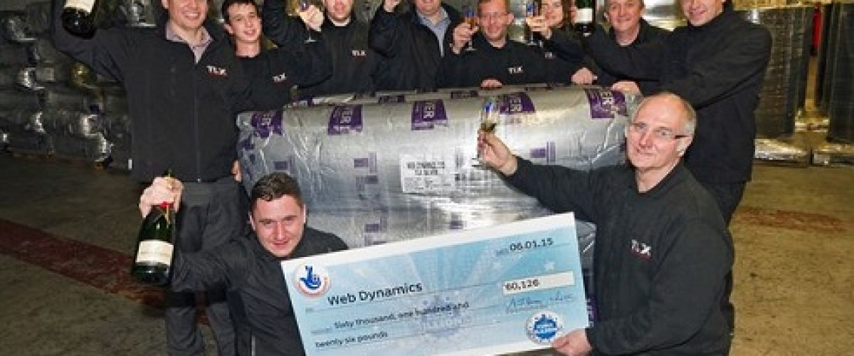 Manchester factory syndicate celebrate EuroMillions win