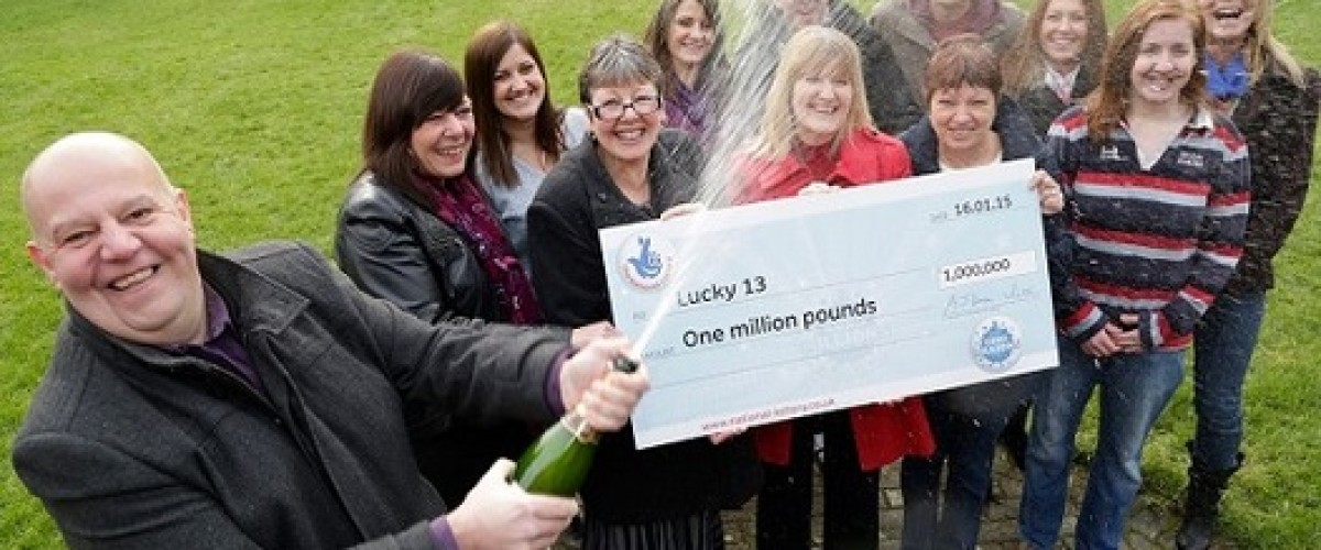 Lucky 13 Win £1m EuroMillions Prize