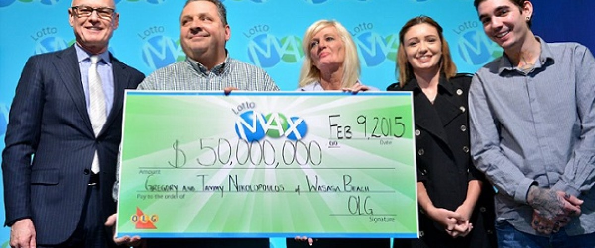 Love for nachos leads to $50m Canadian Lotto Max win
