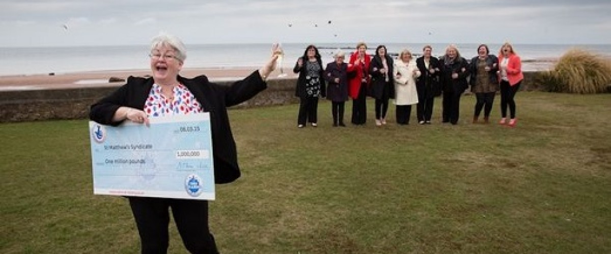Ayrshire cleaning ladies win big on EuroMillions and get straight back to work