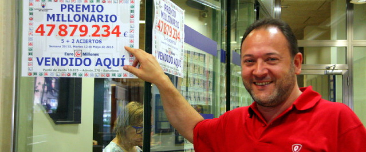 Barcelona EuroMillions player wins jackpot without ever touching a ticket