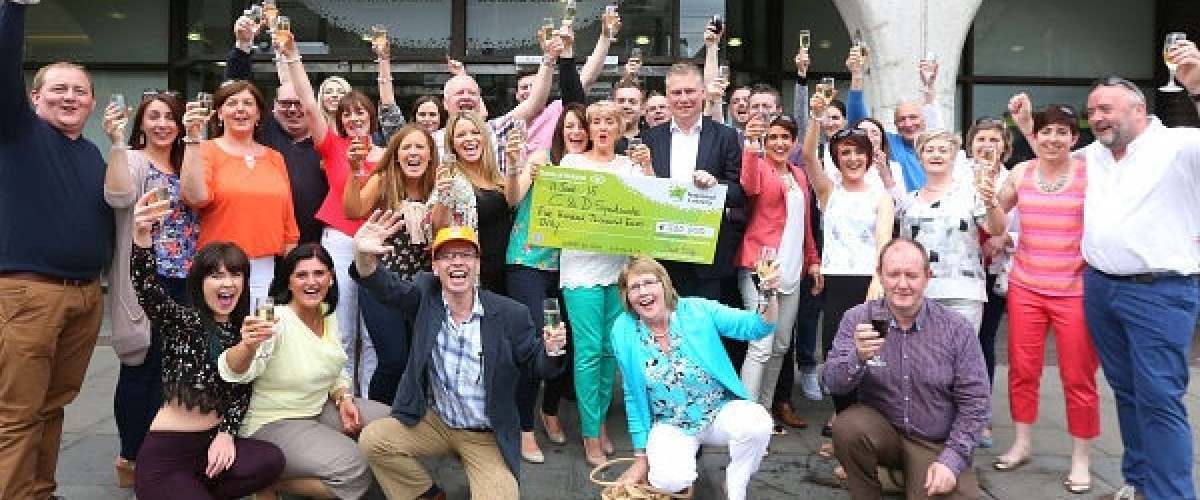 Longford pet food manufacturers scoop a big win on the EuroMillions plus lotto