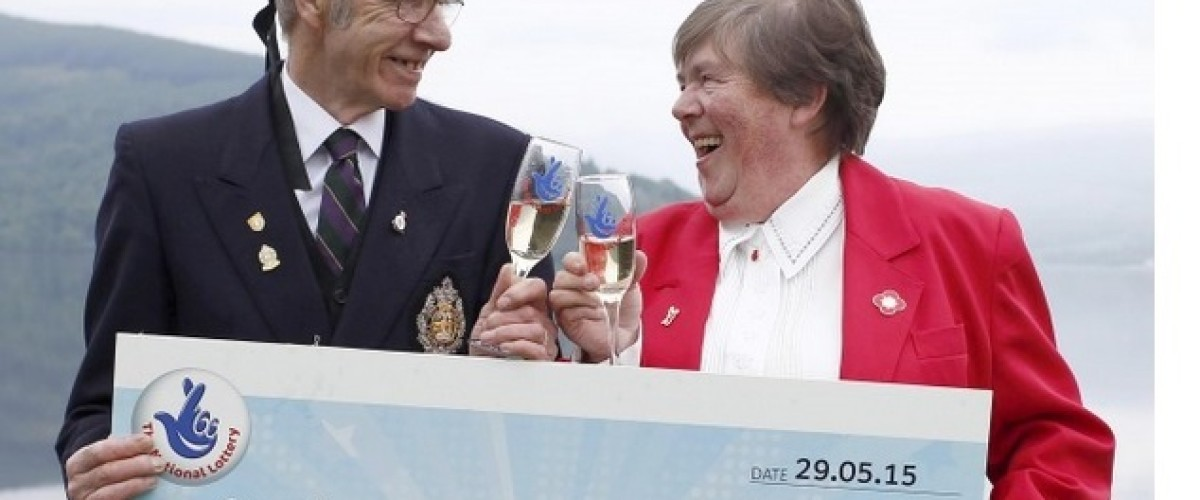 Highlands couple organise armed forces day after winning £1 million EuroMillions prize