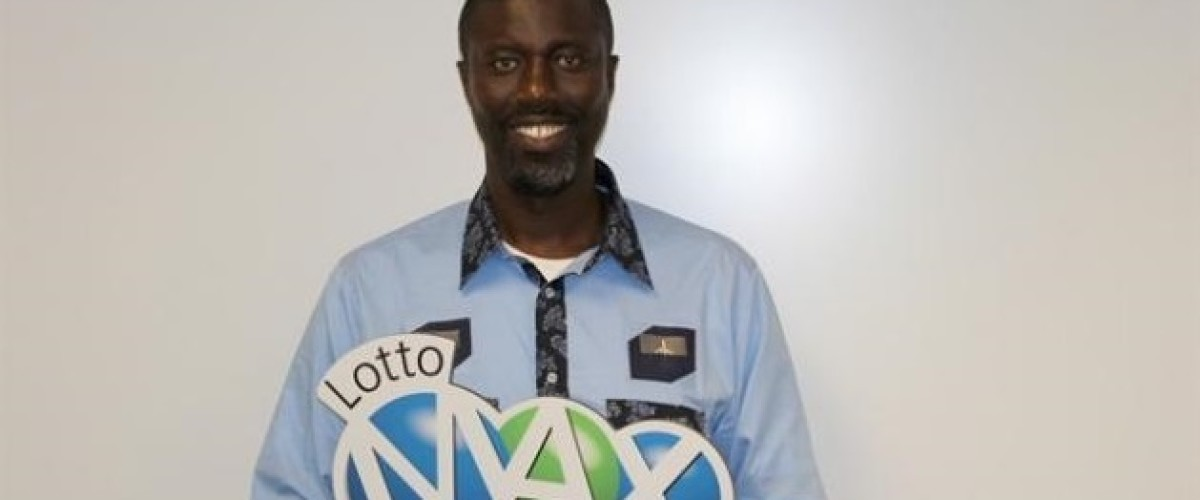 Canadian Lotto Max winner has his head in the clouds after claiming $12.5 million fortune