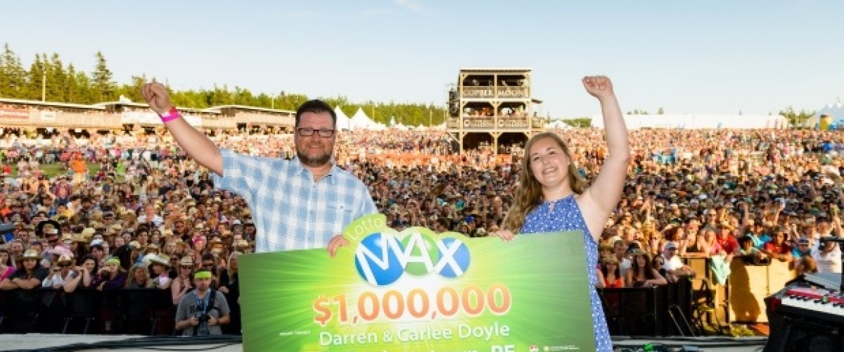 Father and daughter duo win Canadian Lotto Max top prize after playing for six months