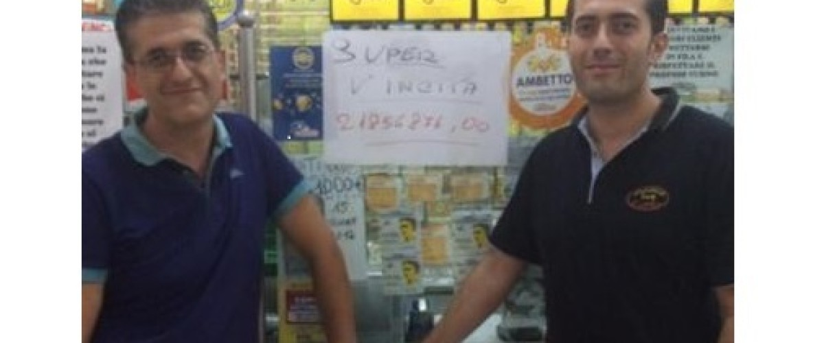 Lucky Sicily player scoops SuperEnalotto jackpot