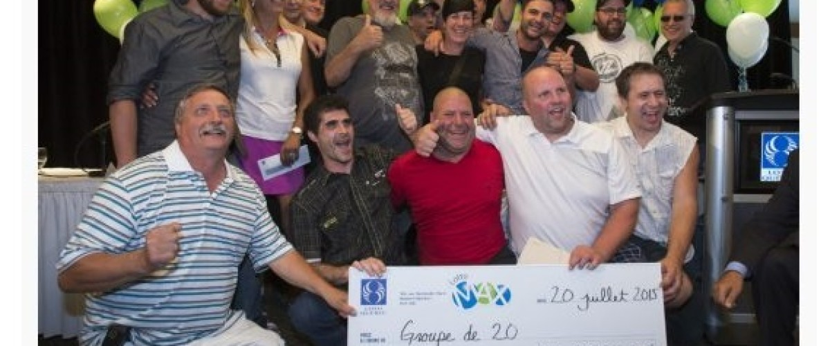 Rona workers get the shock of their life as they win Canadian Lotto Max jackpot