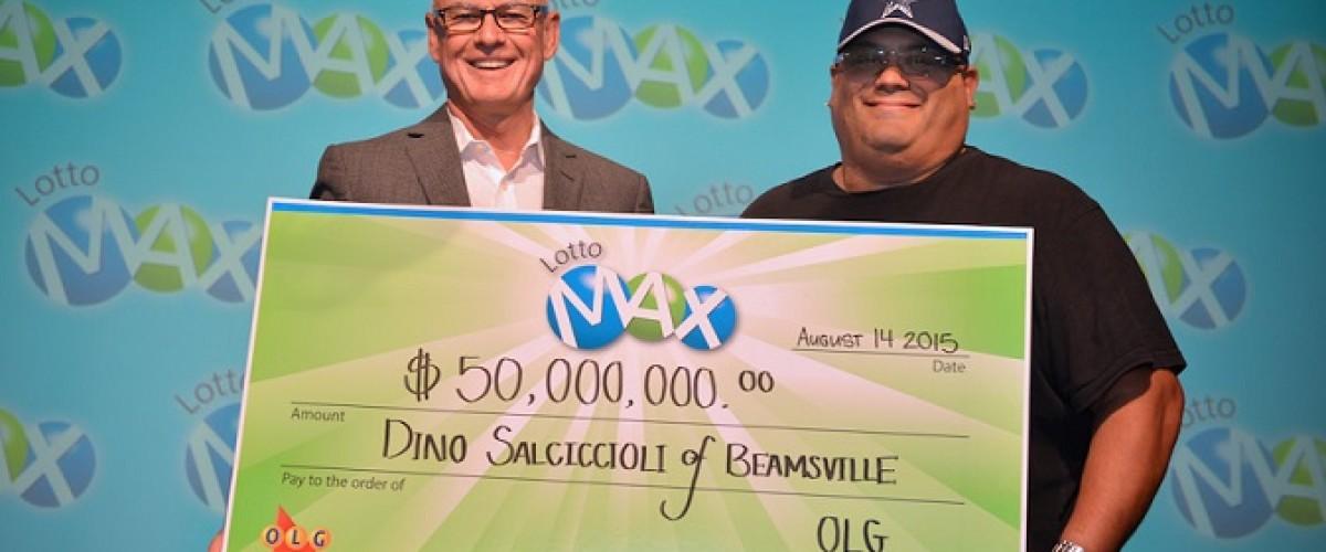 Hamilton, Ontario man finally claims Canadian Lotto Max prize