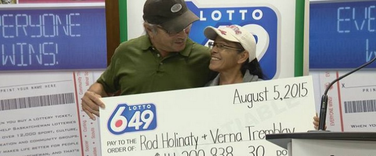 $14.2m Lotto 6-49 Win Leads to Marriage Proposal