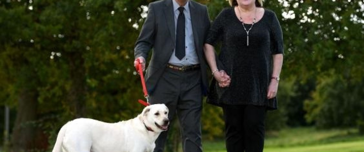 Couple have labrador dog to thank for double EuroMillions win