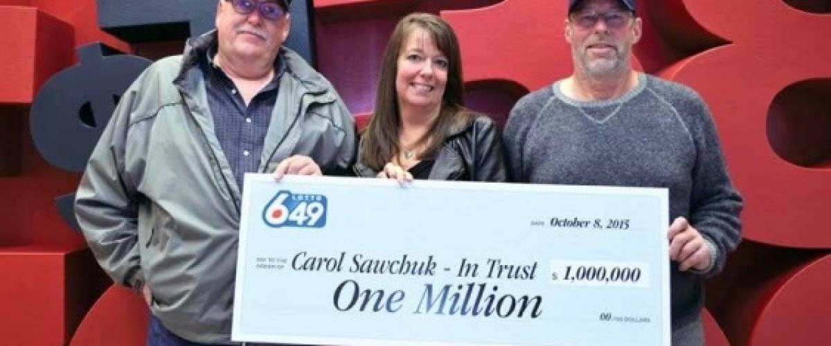 Canadian Sunshine Coast Lotto 6/49 players split $1 million prize