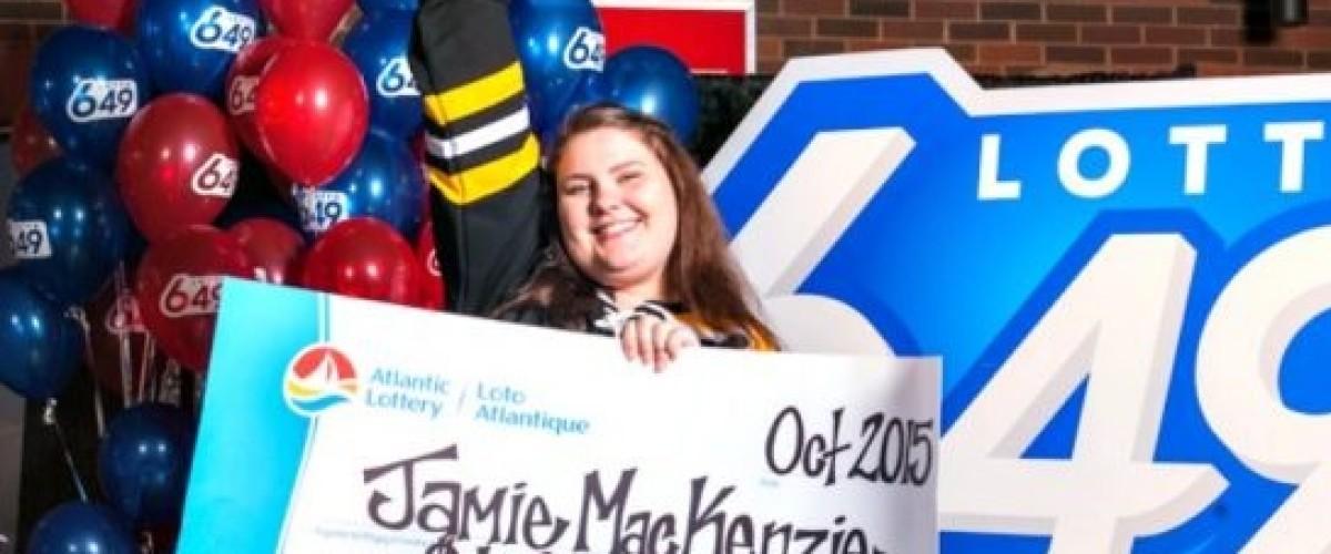 Eastern Canadian Lotto 649 winner is taking her winnings travelling