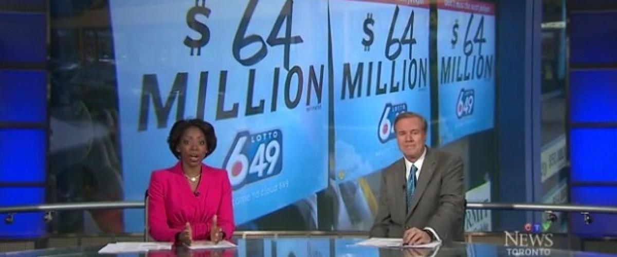 Record breaking Canadian Lotto 649 winner still a mystery