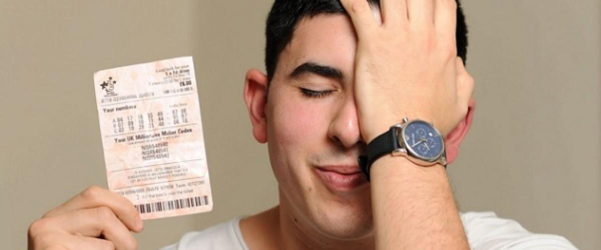 Missing ten costs Adam the £92m EuroMillions jackpot