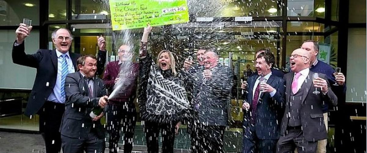 Chosen Few Race to Success With €3.8m Irish Lotto Jackpot