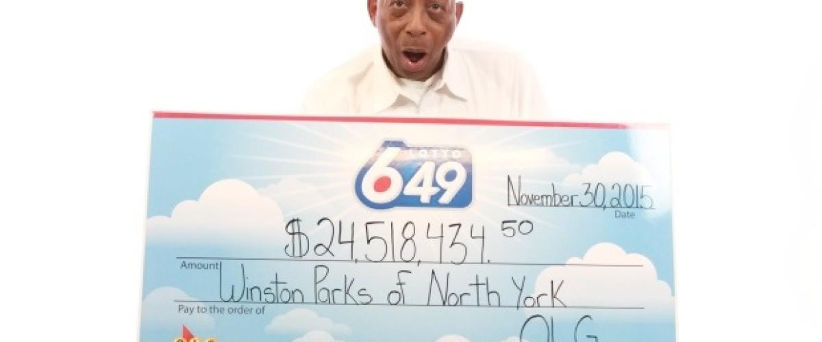 Toronto Lotto 649 winner vows to pay forward his $24.5 million win
