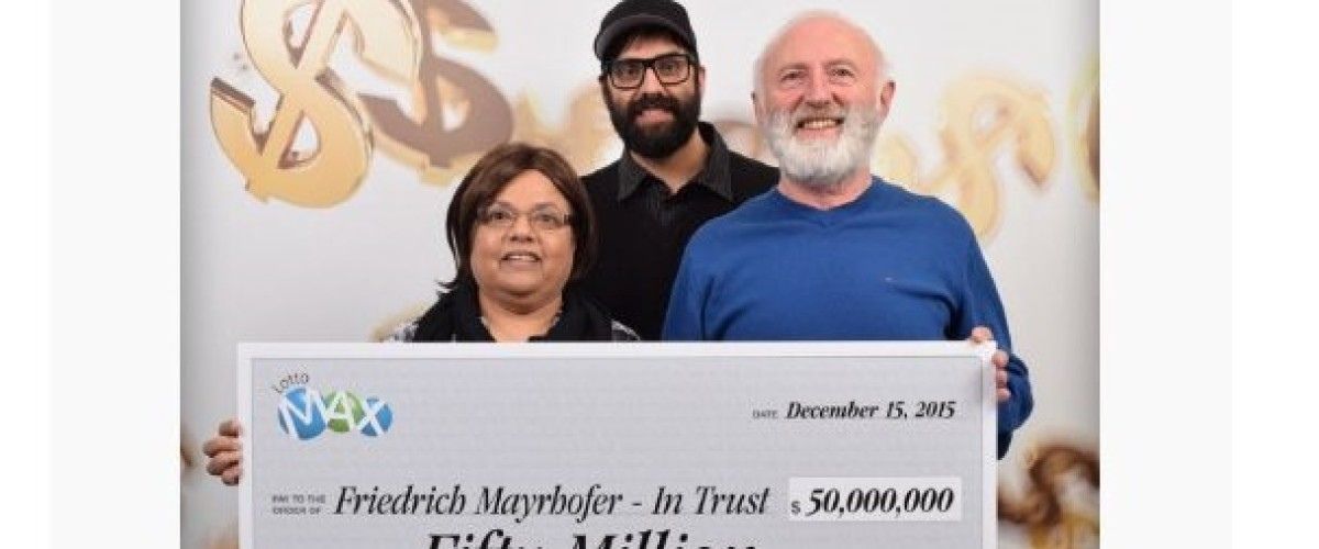 B.C. lottery winner claims Lotto Max prize two years after winning $50 million