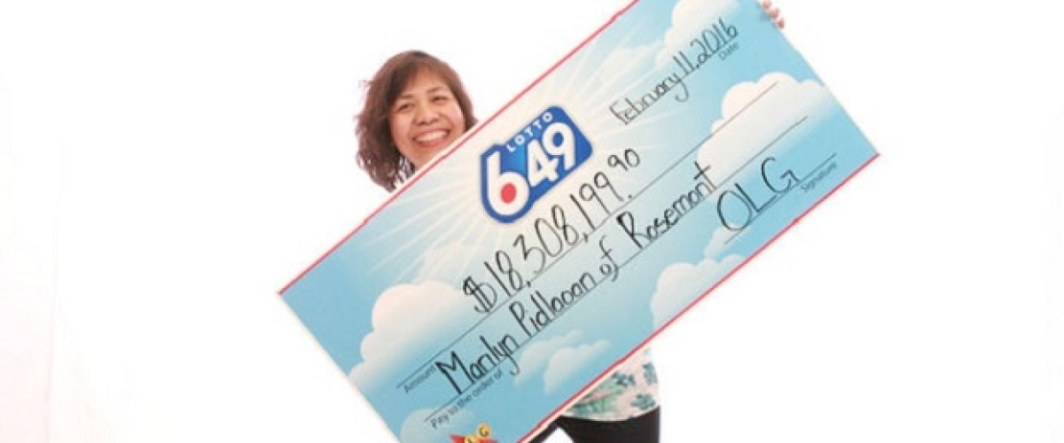 Brand new tractor is on the cards for Paul as his wife wins $18 million on Lotto 649