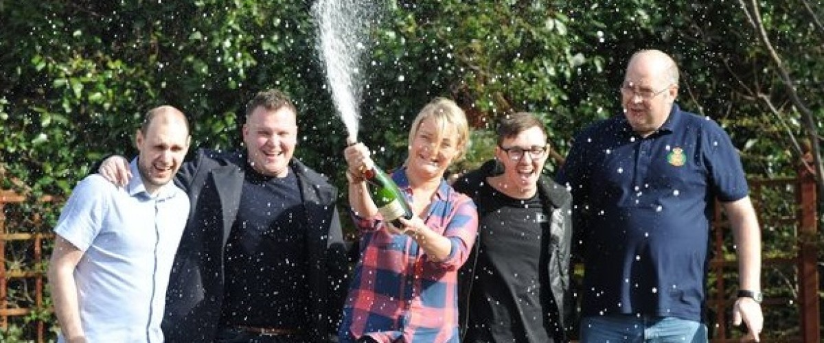 Lottery syndicate scoops £109,182 EuroMillions prize