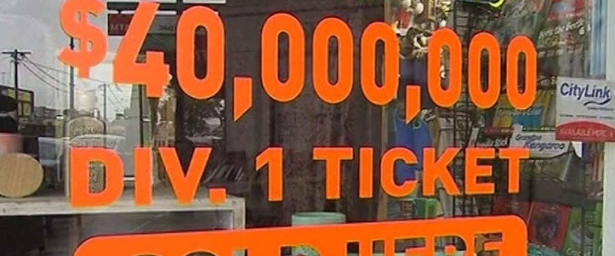 Couple Won't Be Under The Clock After $40m Oz Lotto Win