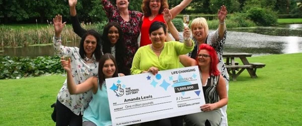 Amanda nearly misses £1m EuroMillions win