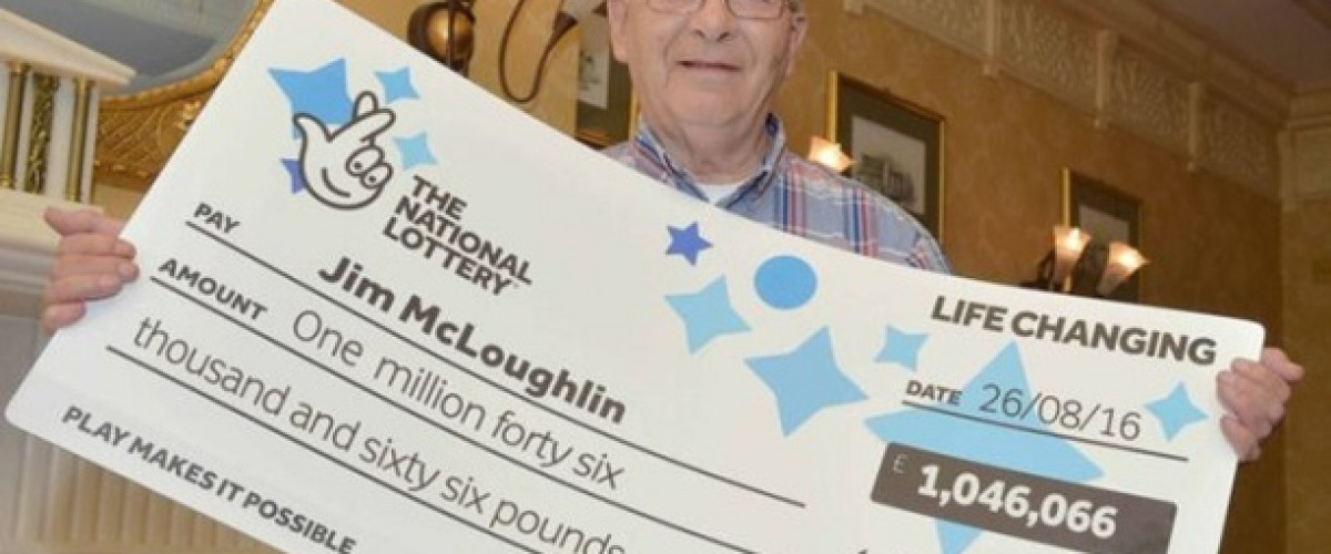 Northern Irish retiree wins £1 million after finding lost EuroMillions ticket in his coat