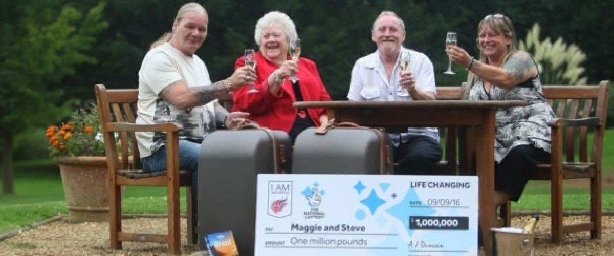 Syndicate of family friends win £1 million on the EuroMillions, plus a luxury trip to Brazil