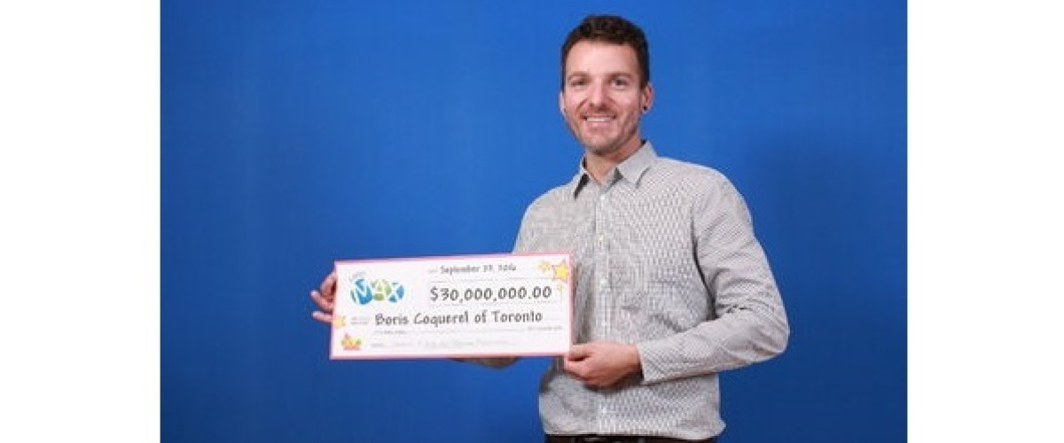 Toronto man finally claims $30 million Lotto Max jackpot after a month of waiting