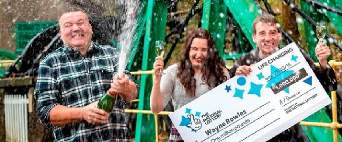 Welsh lottery winner thought his £1 million EuroMillions ticket was a prank