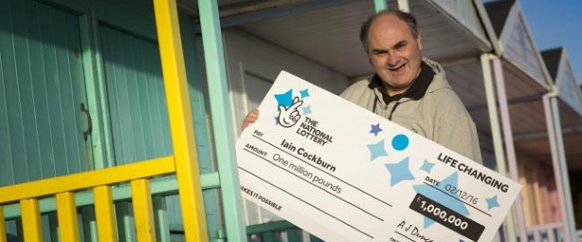 Christmas comes early for Essex laundry man thanks to the EuroMillions