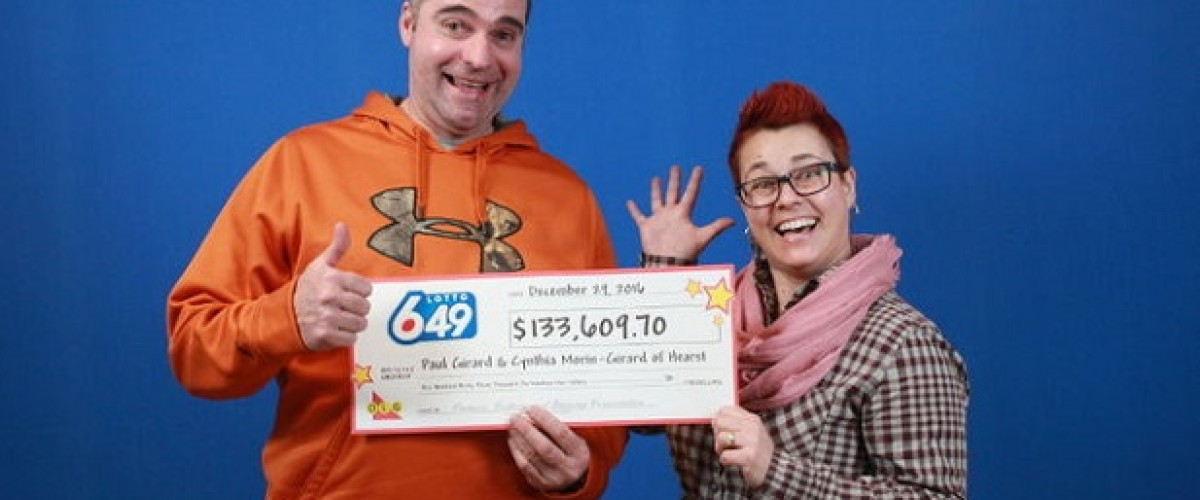 Numbers Used for 26 Years Win $133,609 Canadian Lotto 6/49 Prize