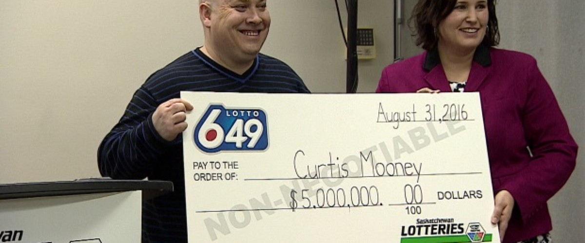 Curtis Discovers $5m Canadian Lotto 6/49 Win Four Months After Draw