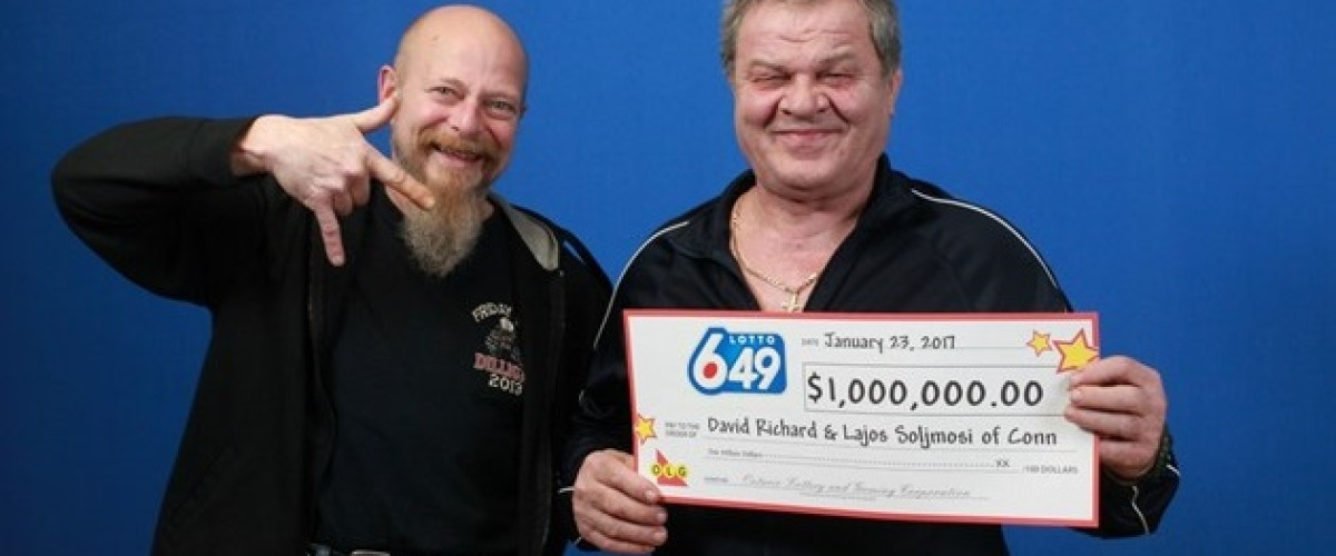 Guelph colleagues win $1 million on Canadian Lotto 649 after a decade of playing